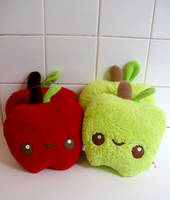 Bushels of Apples by kickass-peanut