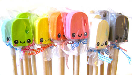 Cellophane Wrapped Toppers by kickass-peanut