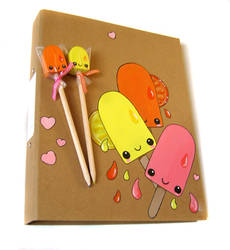 fruit-ice Painted folder by kickass-peanut