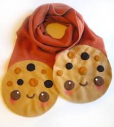 Cookie Scarf by kickass-peanut
