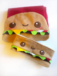 Cheeseburger Warmer Set