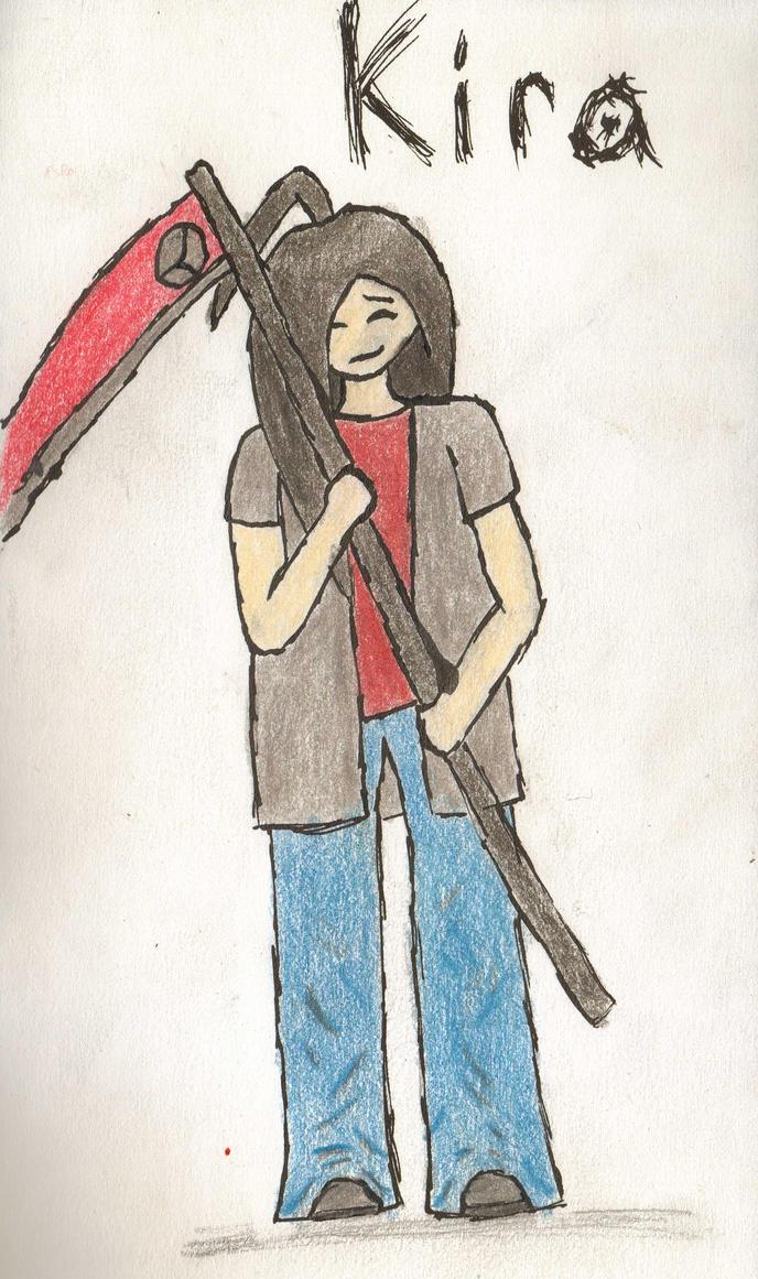kira in color by inufull09