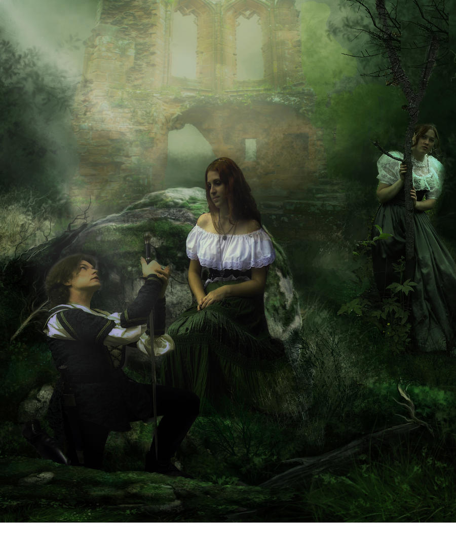 Lysander and hermia by designdiva3 on deviantart - The hideout in the woods an artists dream ...