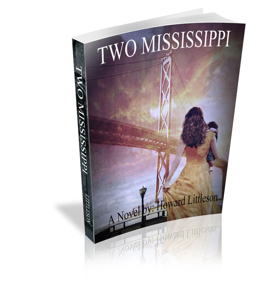 Book Cover Design Two Mississippi by designdiva3