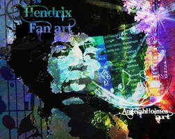Jimmy hendrix fan Art