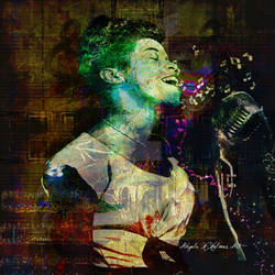 Sarah Vaughn TributeMixed media