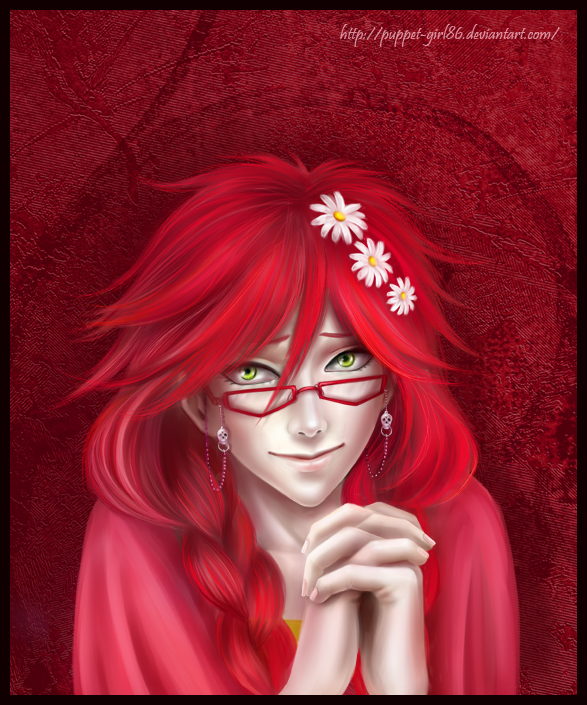 Grell Sutcliff by Puppet-Girl86