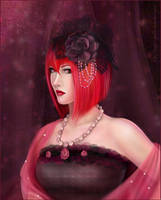 Madame Red for AnnaProvidense by KeiLumo