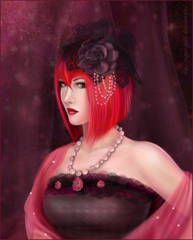 Madame Red for AnnaProvidense by Puppet-Girl86