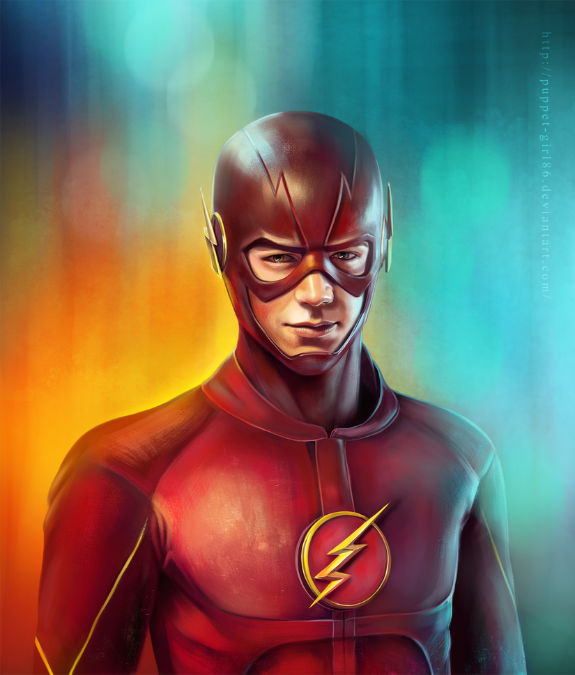 The Flash by Puppet-Girl86
