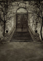 Dark Door BG... by the-night-bird
