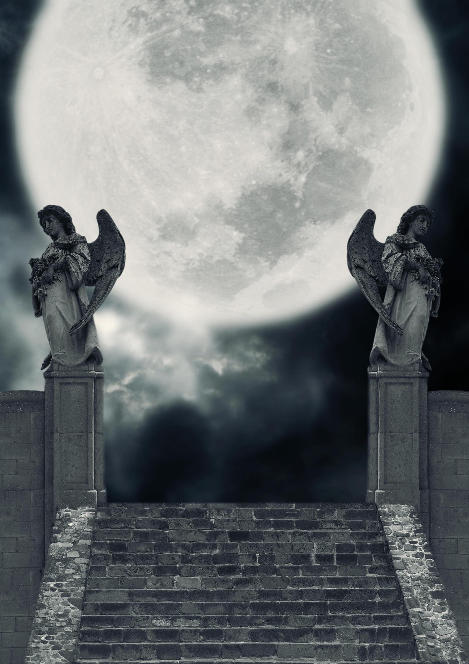 Moon Realm BG by the-night-bird