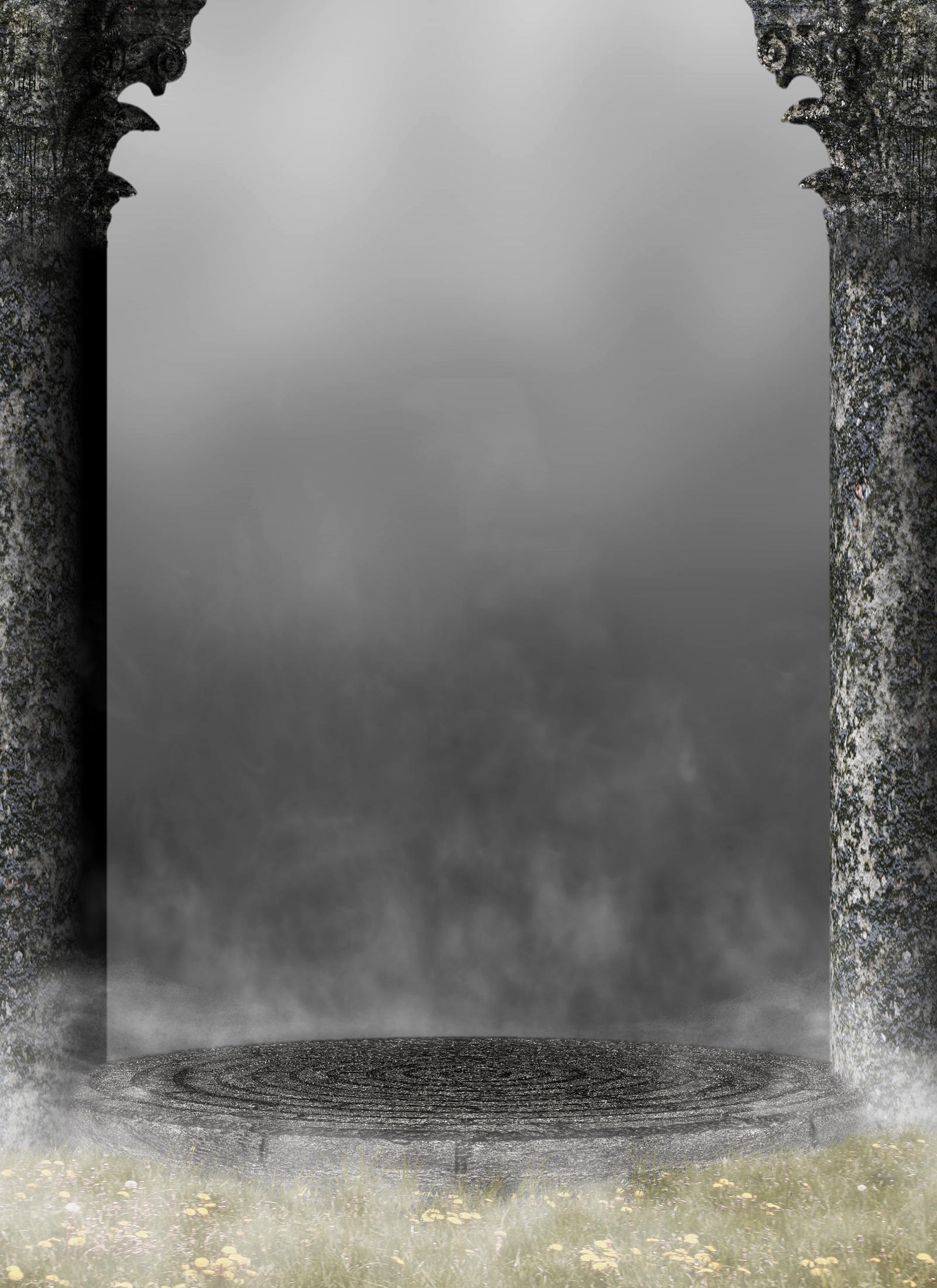 Columns bg 01 by the night bird on deviantart for Premade columns
