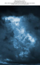 Manipulated Sky 03 by the-night-bird