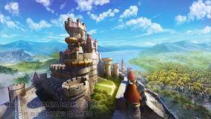 Boohawi Games - Castle background