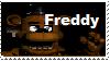 Freddy Fazbear Stamp by KeepStamingMeMaties
