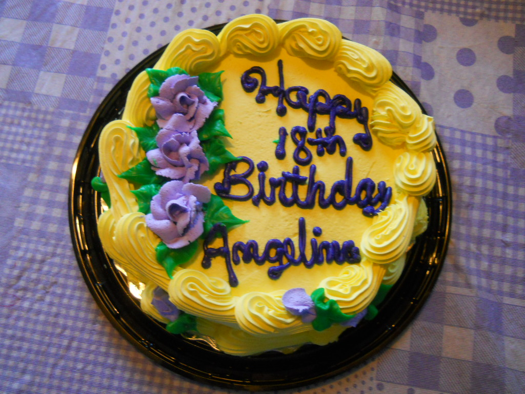 Happy Birthday Cake By Loving Daughter