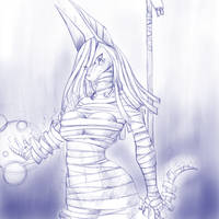 Jackal Mummy concept 2 by Stormclad