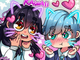 Aphmau and KC by SnowyTheMusical
