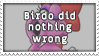 Birdo Did Nothing Wrong by 1PointADay