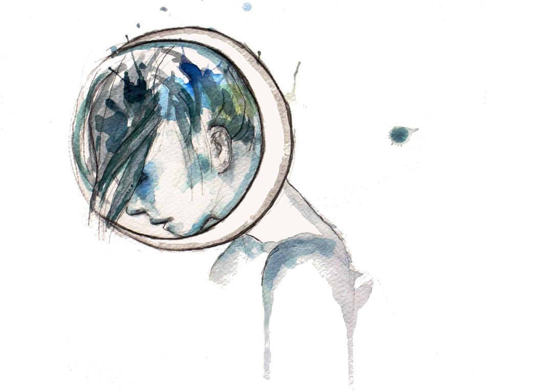 Moongirl by ElizaVanVeen