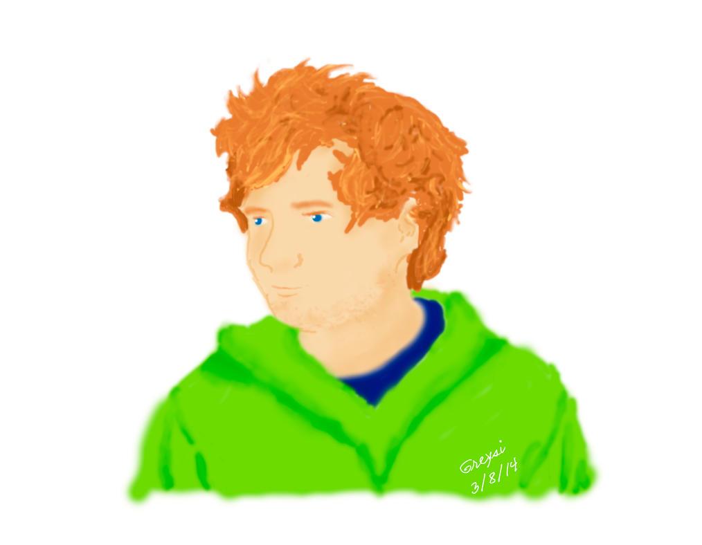 Ed Sheeran by Brujita855