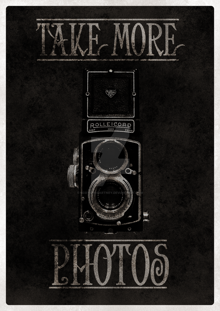 Vintage Camera Poster by ScottMcCartney on DeviantArt