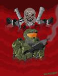 Halo Infinite: Escharum by CartoonWill