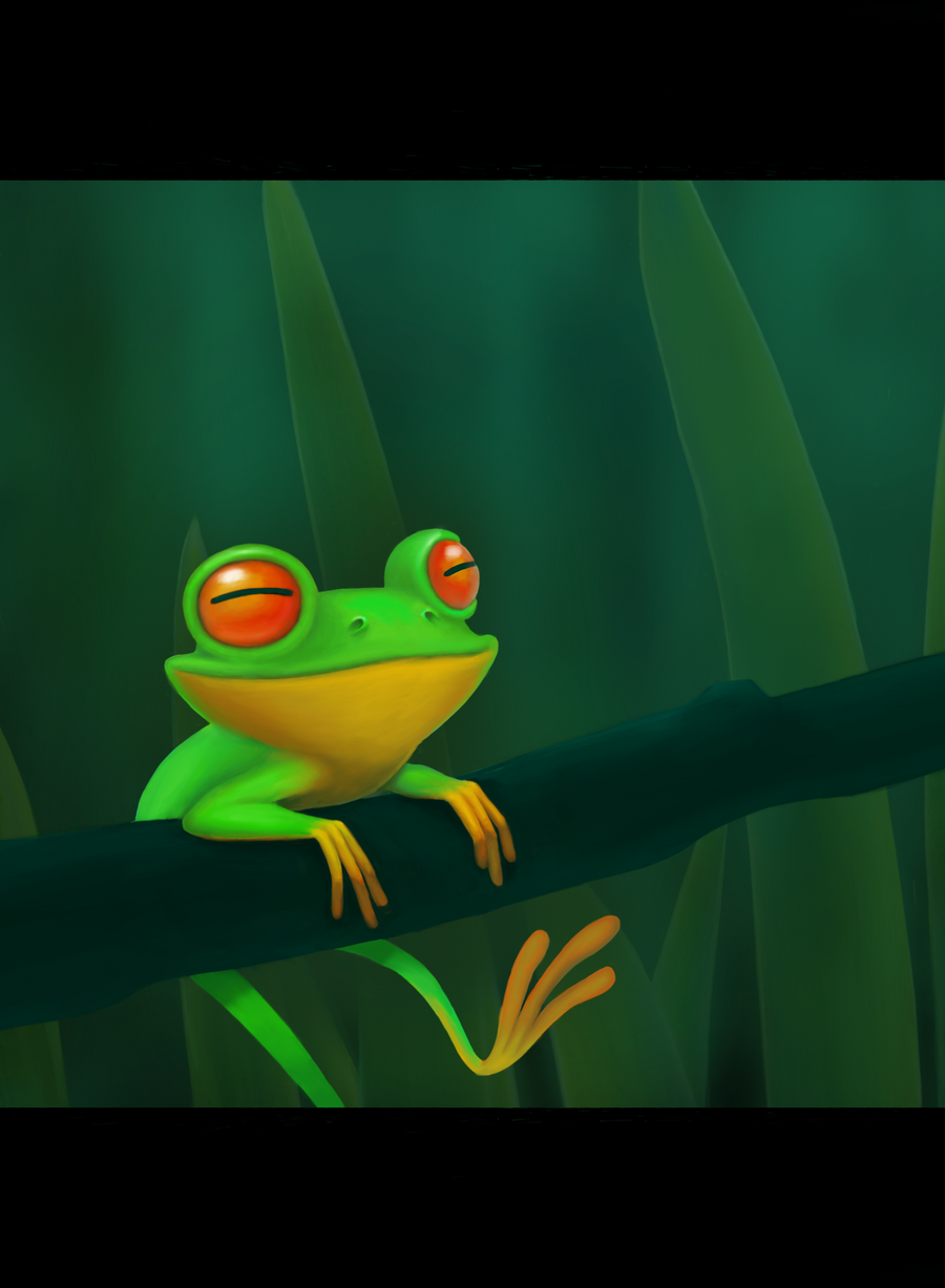Happy Frog by carny87 on DeviantArt