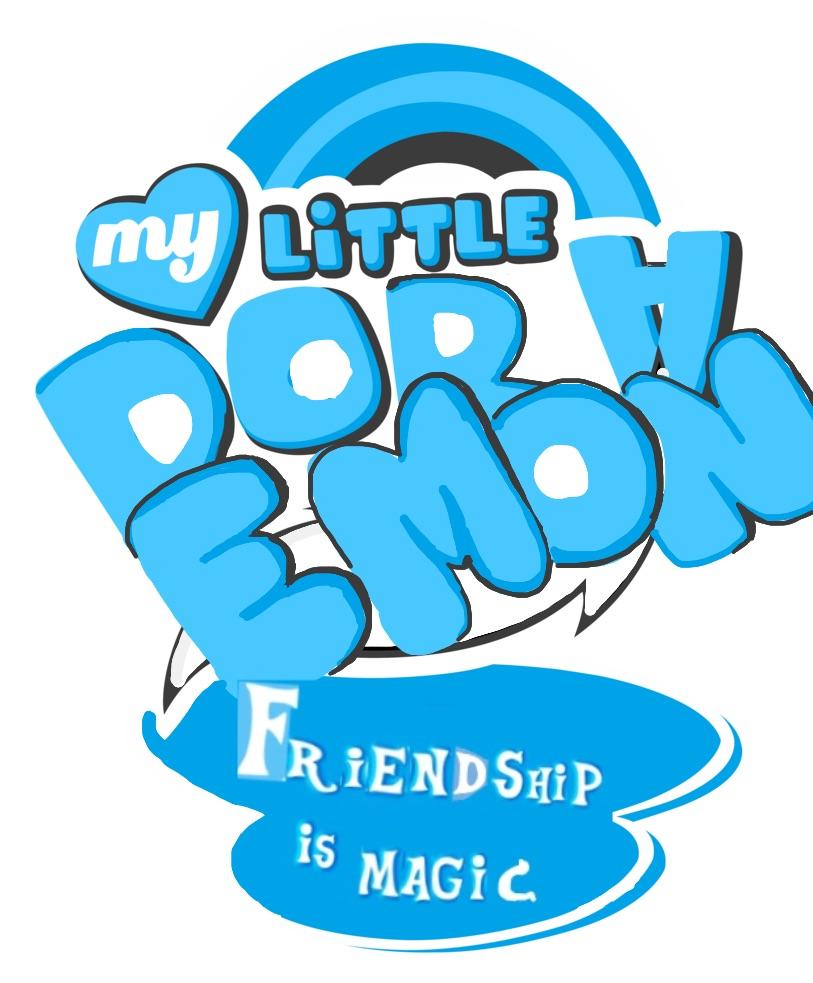 My Little Doraemon Logo by doraemon-suneo