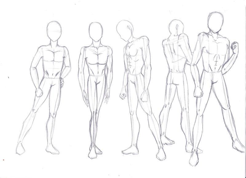 Anime Guy Drawing Full Body