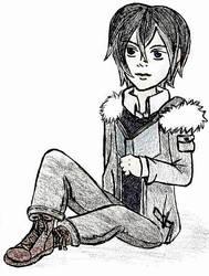 Ash bookworm by Strayblackcat