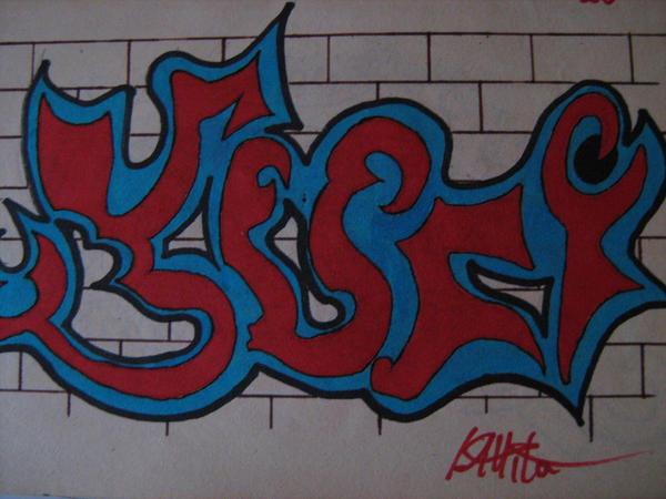 Graffiti YURI by thewiszardk