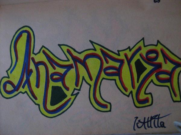 Ana Maria Graffiti Graffitis Que Digan Maria