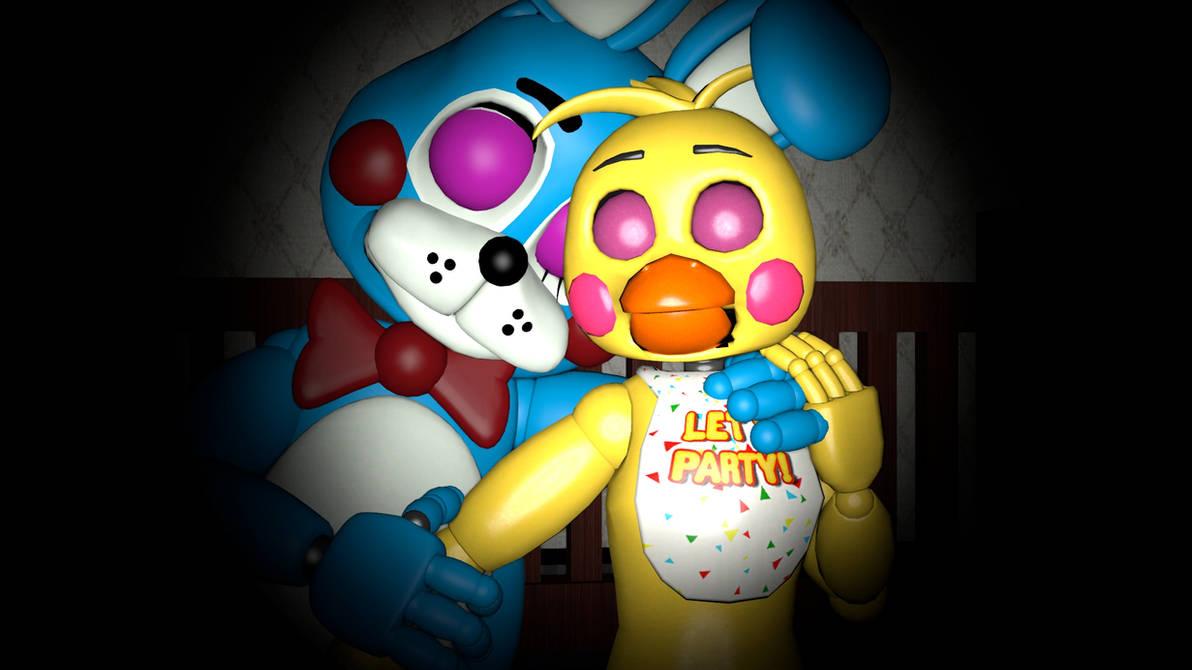 Toy Bonnie X Toy Chica FNAF SFM By Bonniethecutebunny87 On