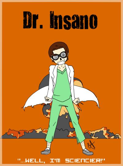 Dr. Insano by AyanoShao