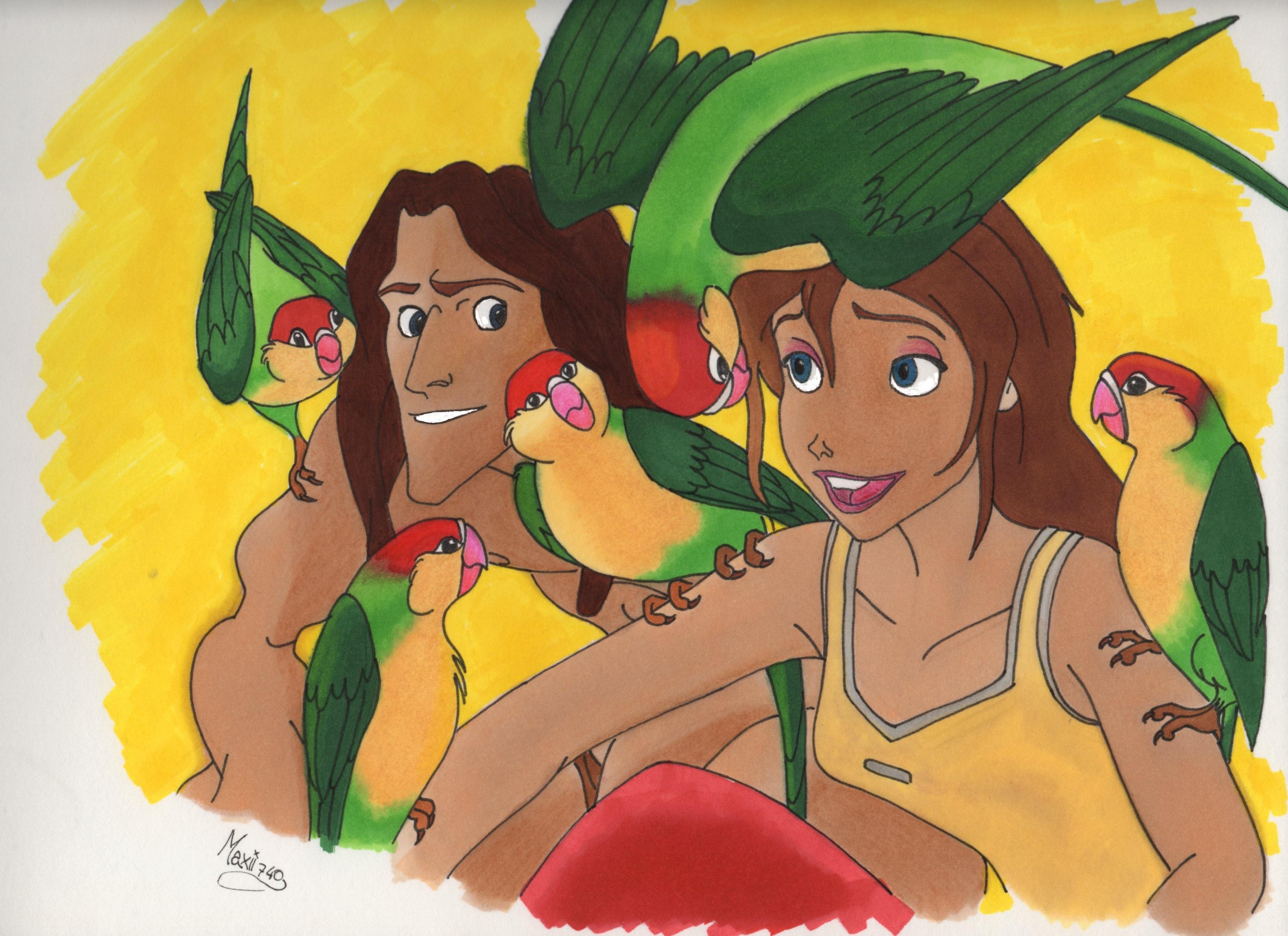 Tarzan And Jane by maxii740