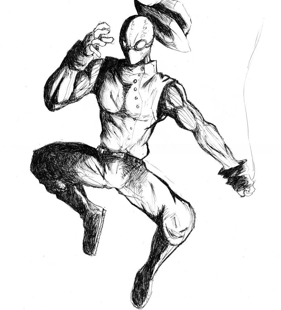 spider man noir 2 by phum0 on deviantart