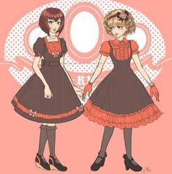 Lolita Fall Designs by greyskyblues