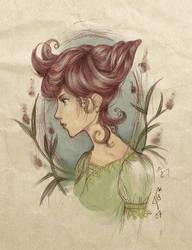 seashell hair by greyskyblues