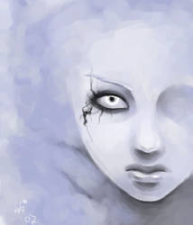wintry visage