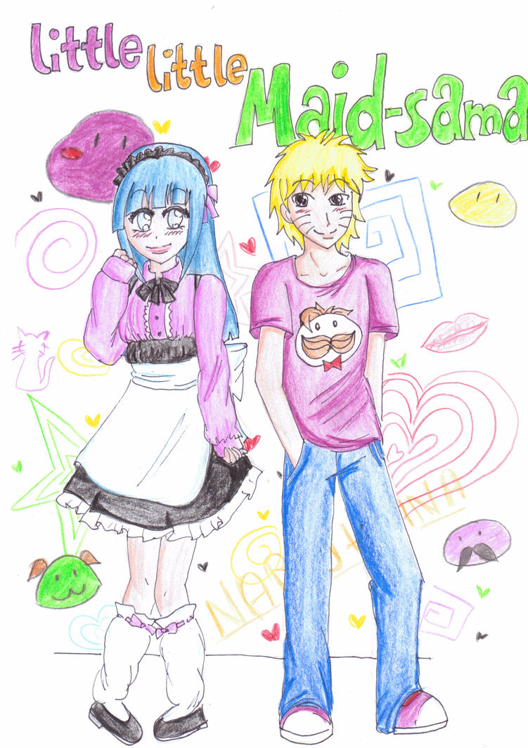 Naruhina-Manga : Little little Maid-sama by HikaCat
