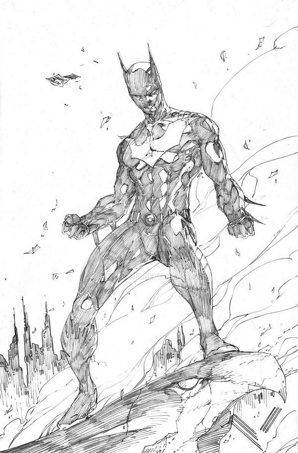 Batman Beyond (Terry McGinnis) -- Sketch Drawing By SelinaCarr On DeviantArt