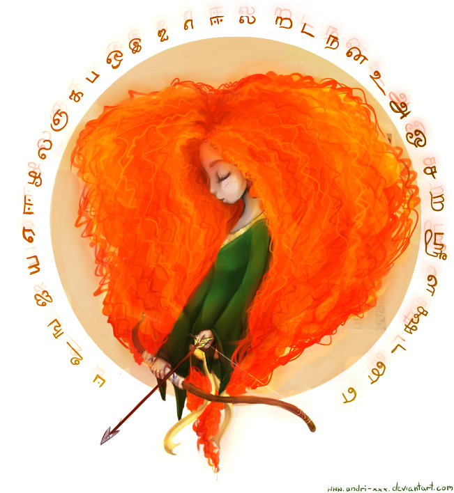 Brave- Merida by Andri-xxx