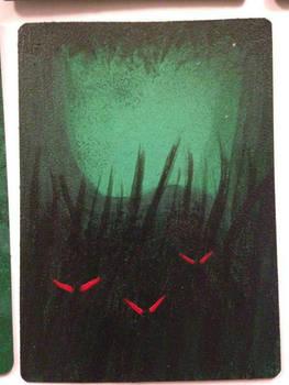 Magic token - dark forest