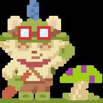 Teemo Pixel Art - League of Legends