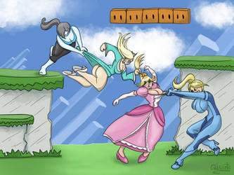 Super Smash Girls by Gisarts