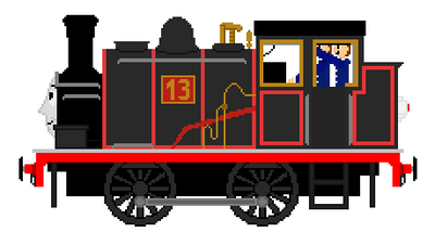 Thirteen The small black Engine by AmazingNascar221