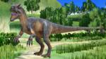 MMD (JWE) Allosaurus by AmazingNascar221