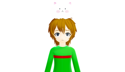 [MMD] Tippy on Sean Coover's head